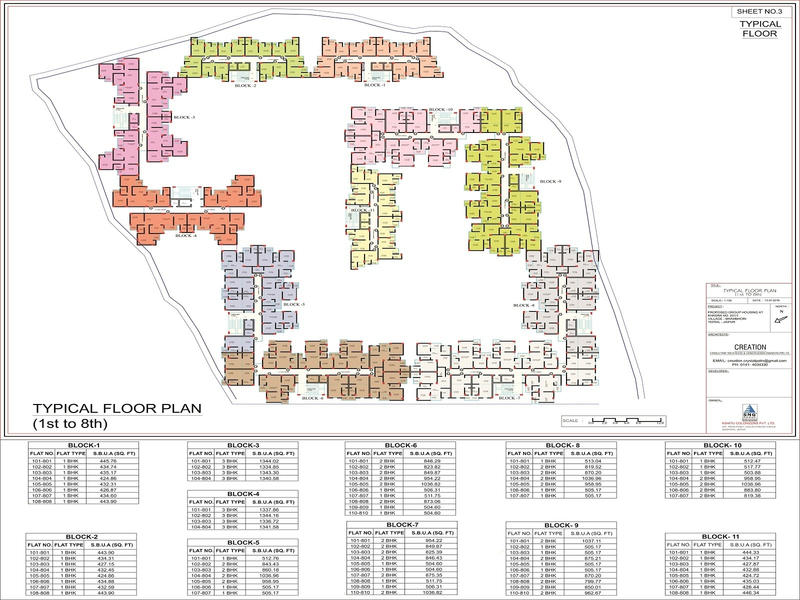 1342 sq ft 3 bhk 3t apartment for sale in sng group apna for Ghar plans design