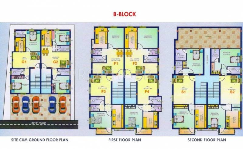 Images for Cluster Plan of Maruthi Sai Kripa