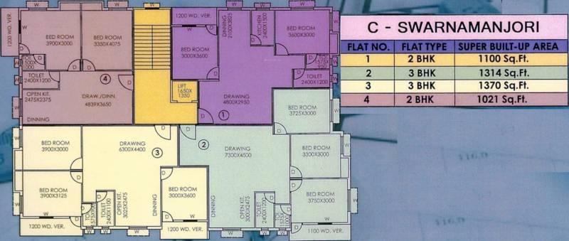 Images for Cluster Plan of Somani Madhu Malancha