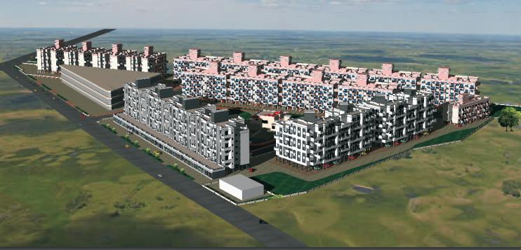 vardhaman-township Elevation