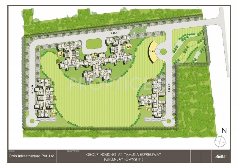 Images for Layout Plan of Orris Greenbay Golf Homes