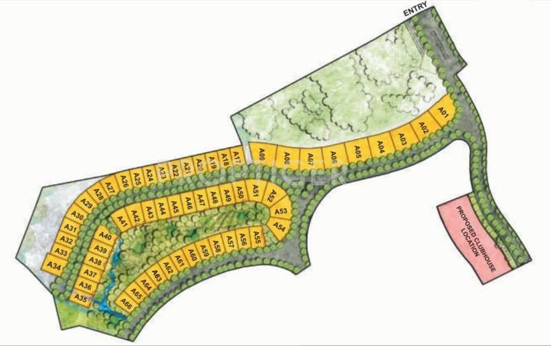 Images for Site Plan of Raheja Viva