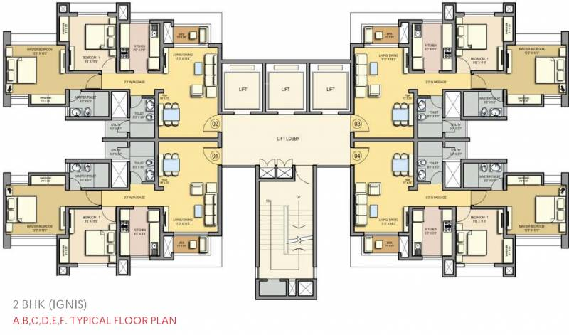 Lodha The Park Floor Plan: Lodha Group Tierra For Sale