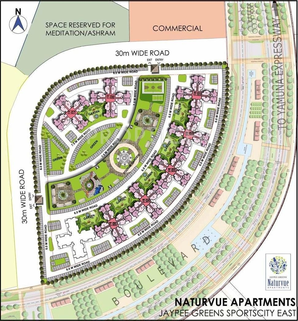 Websites For Apartments: Jaypee Greens Naturvue Apartments In Sector 22D Yamuna