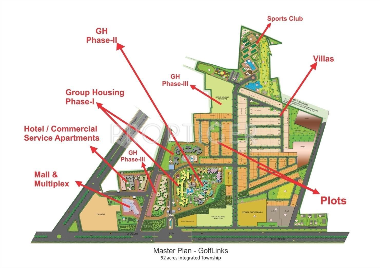 Landcraft Homes Floor Plans: LandCraft Golflinks Plots In Lal Kuan, Ghaziabad