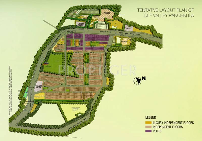 Images for Site Plan of DLF Valley