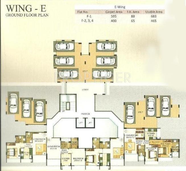 Images for Cluster Plan of Morya Mandar Avenue F II