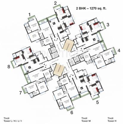 Images for Cluster Plan of Godrej Garden City