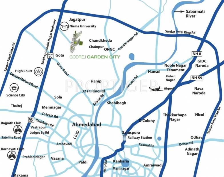Images for Location Plan of Godrej Garden City