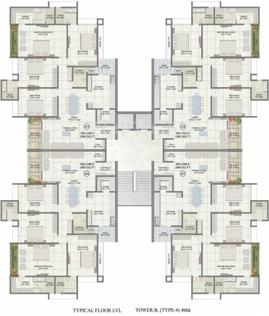 Images for Cluster Plan of JP Iscon Platinum