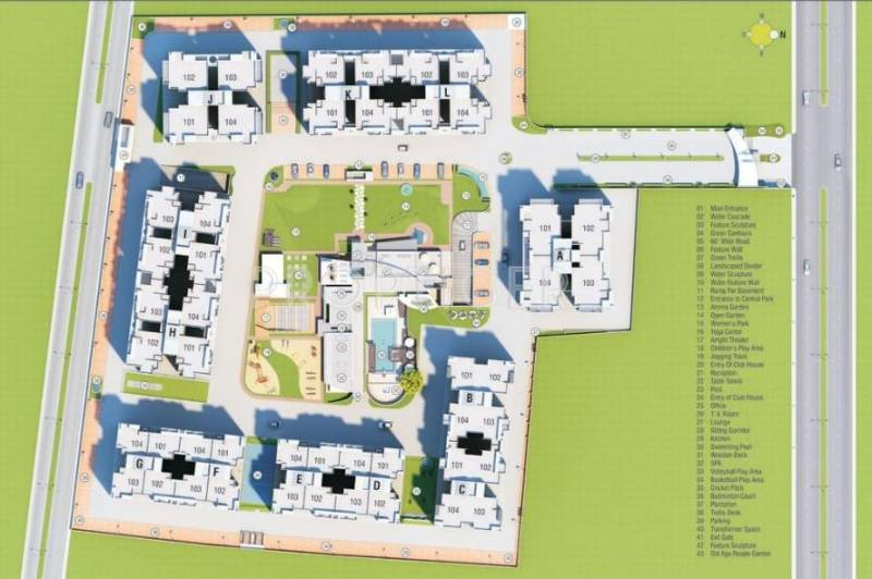 Images for Layout Plan of JP Iscon Habitat