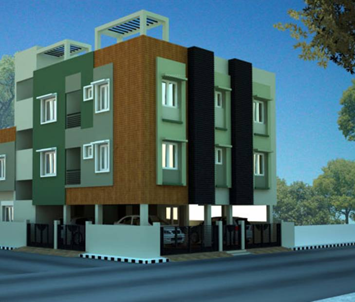 Images for Elevation of Greenwich Constructions Bhuveshwari Nagar Velachery