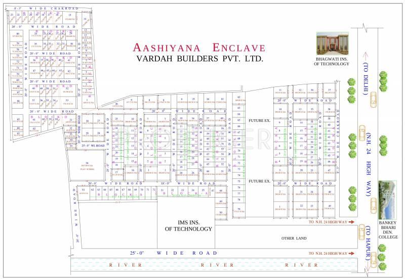 Images for Layout Plan of Vardah Aashiyana Enclave