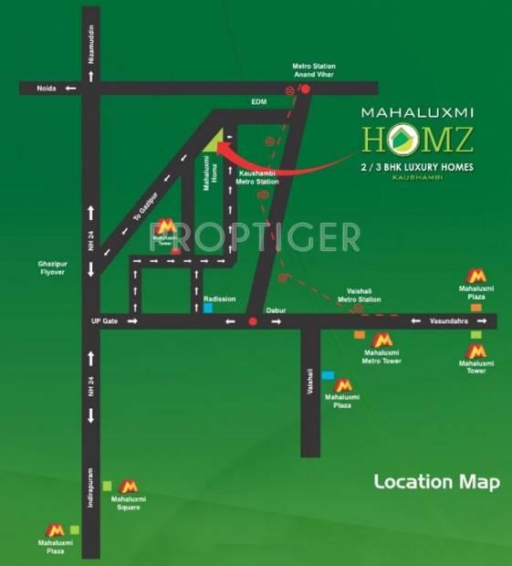 Images for Location Plan of Migsun Mahaluxmi Homz