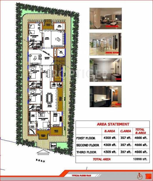 Images for Cluster Plan of Choice India Jubilee 211