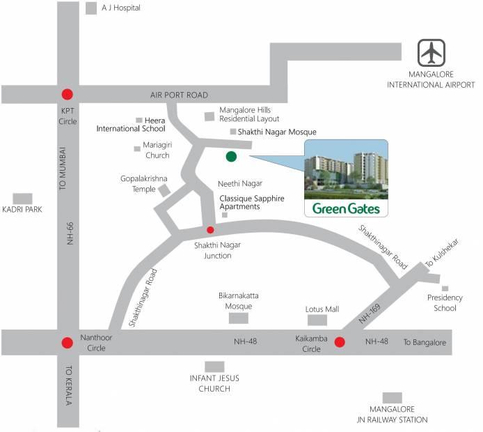 green-gates Location Plan