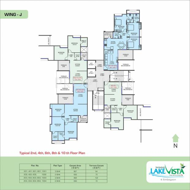 Images for Cluster Plan of Venkatesh Lake Vista