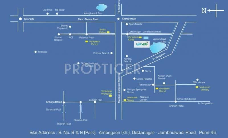 Images for Location Plan of Venkatesh Lake Vista