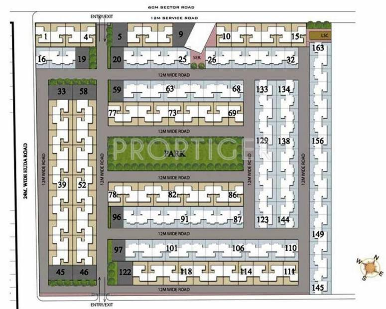 Images for Layout Plan of Vatika Signature Two