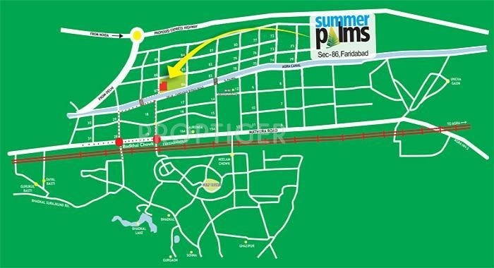 Images for Location Plan of Umang Realtech Summer Palms