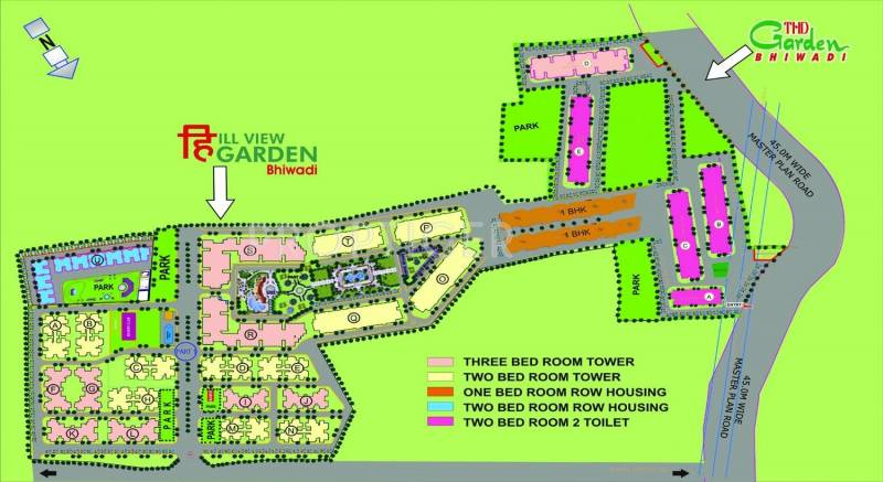 Images for Master Plan of Trehan THD Garden