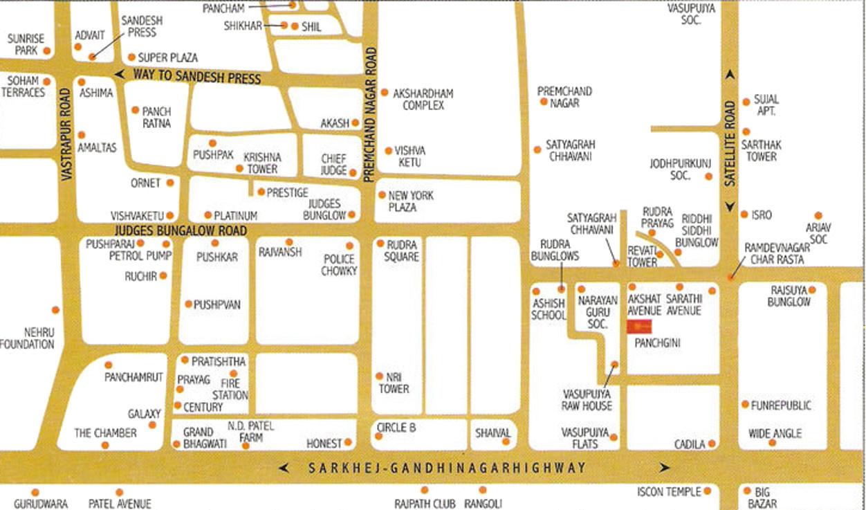 Sheladia Panchgini Appartment In Satellite Ahmedabad