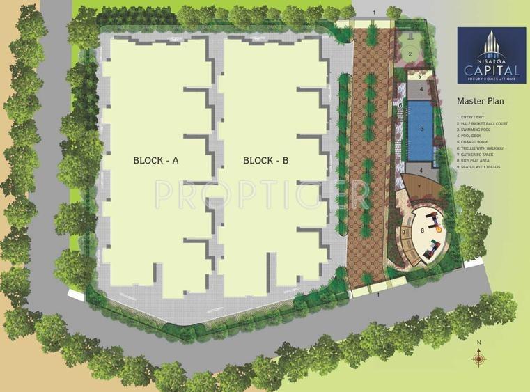 Images for Layout Plan of Nisarga Nisarga Capital