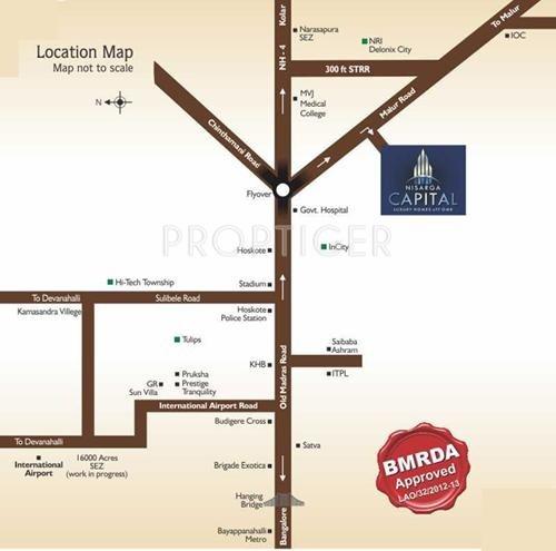 Images for Location Plan of Nisarga Nisarga Capital