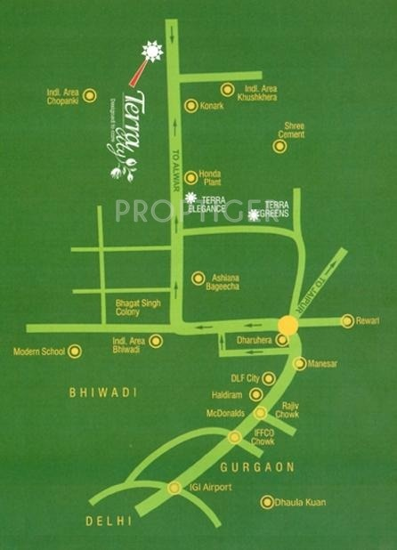 Images for Location Plan of Terra City Floors