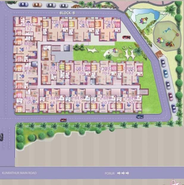 Images for Cluster Plan of Deccan Apporva