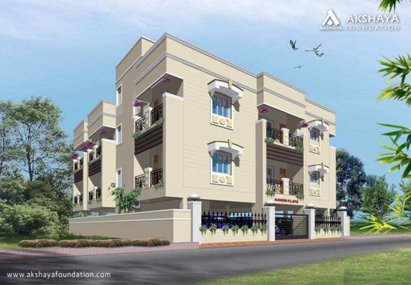Images for Elevation of Akshaya Kaveri Flats