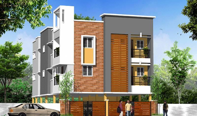 Images for Elevation of KVR Builders Akshaya