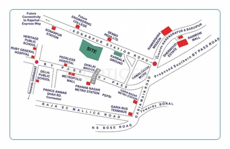 Images for Location Plan of Vibgyor Regent Sonarpur