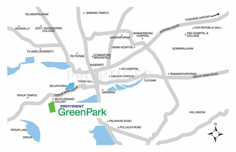 Images for Location Plan of Provident Green Park