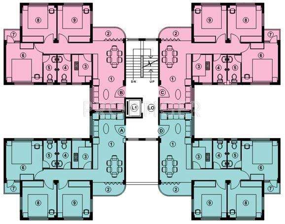 Images for Cluster Plan of Bengal Shelter Sisirkunja