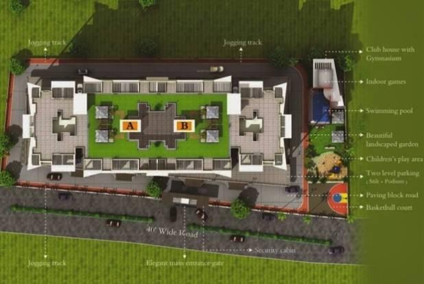 sai-royale Images for Layout Plan of Vaishnavi Sai Royale