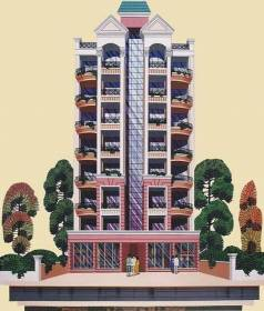 Images for Elevation of Swastik Albela Tower