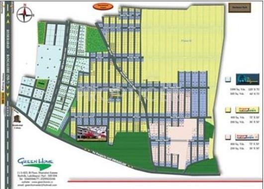 Images for Layout Plan of Green Airport Town