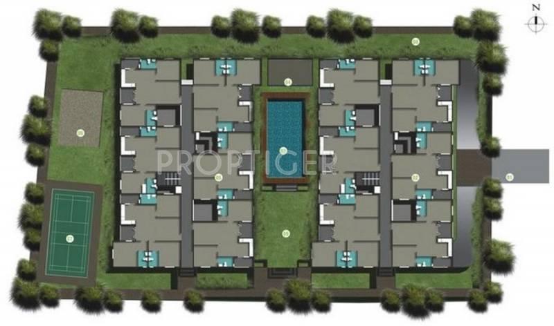 Images for Layout Plan of Kriti Gardenia Jasminoides