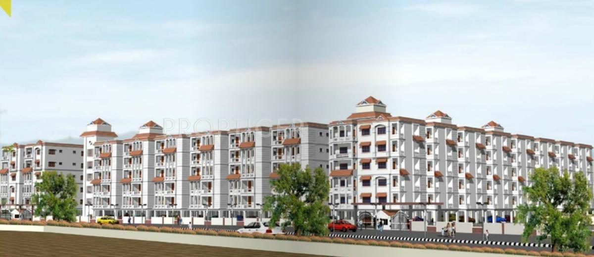 Main Elevation Image Of Madhu Infra Park Ridge Unit