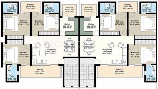 vip-floors Images for Cluster Plan of Puri VIP Floors