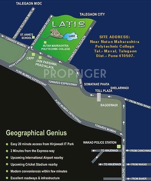 latis Images for Location Plan of Kohinoor Group Latis