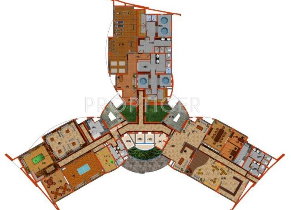 4200 sq ft 4 bhk 5t apartment for sale in kailash nath for 4200 sq ft house plans