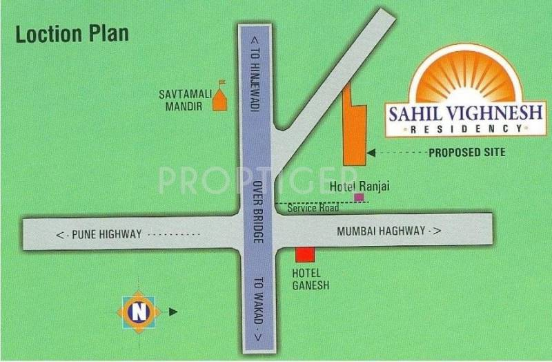 Images for Location Plan of Vaishnavi Sahil Vighnesh Residency