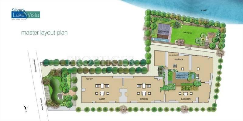 Images for Layout Plan of Jhaveri Silver Lake Vista