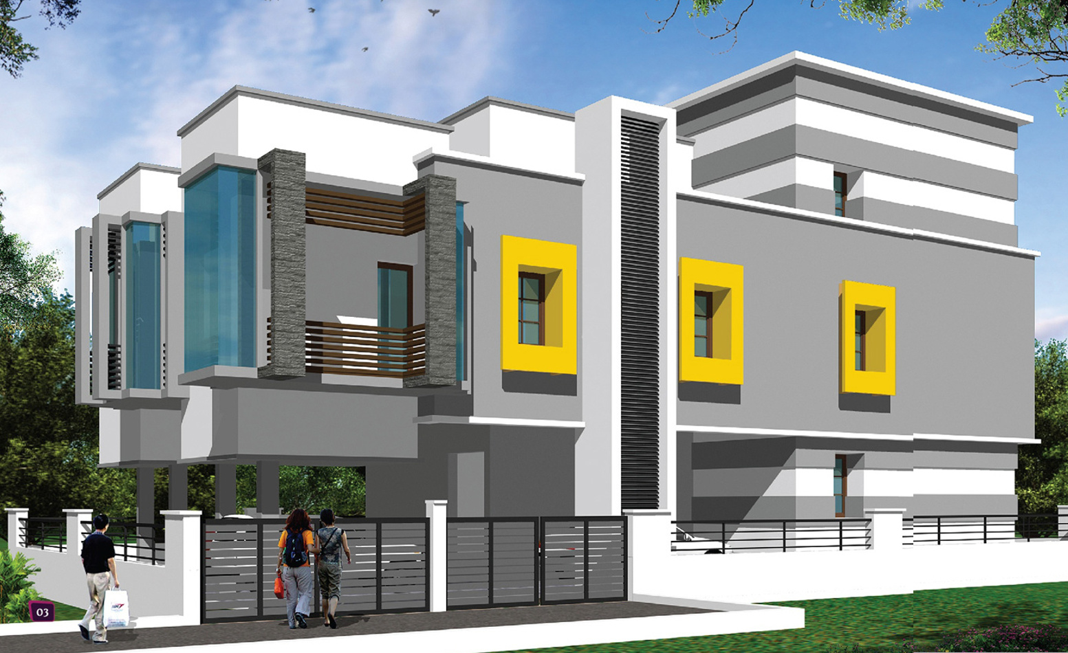 1084 Sq Ft 3 Bhk 2t Apartment For Sale In Four Square Developer