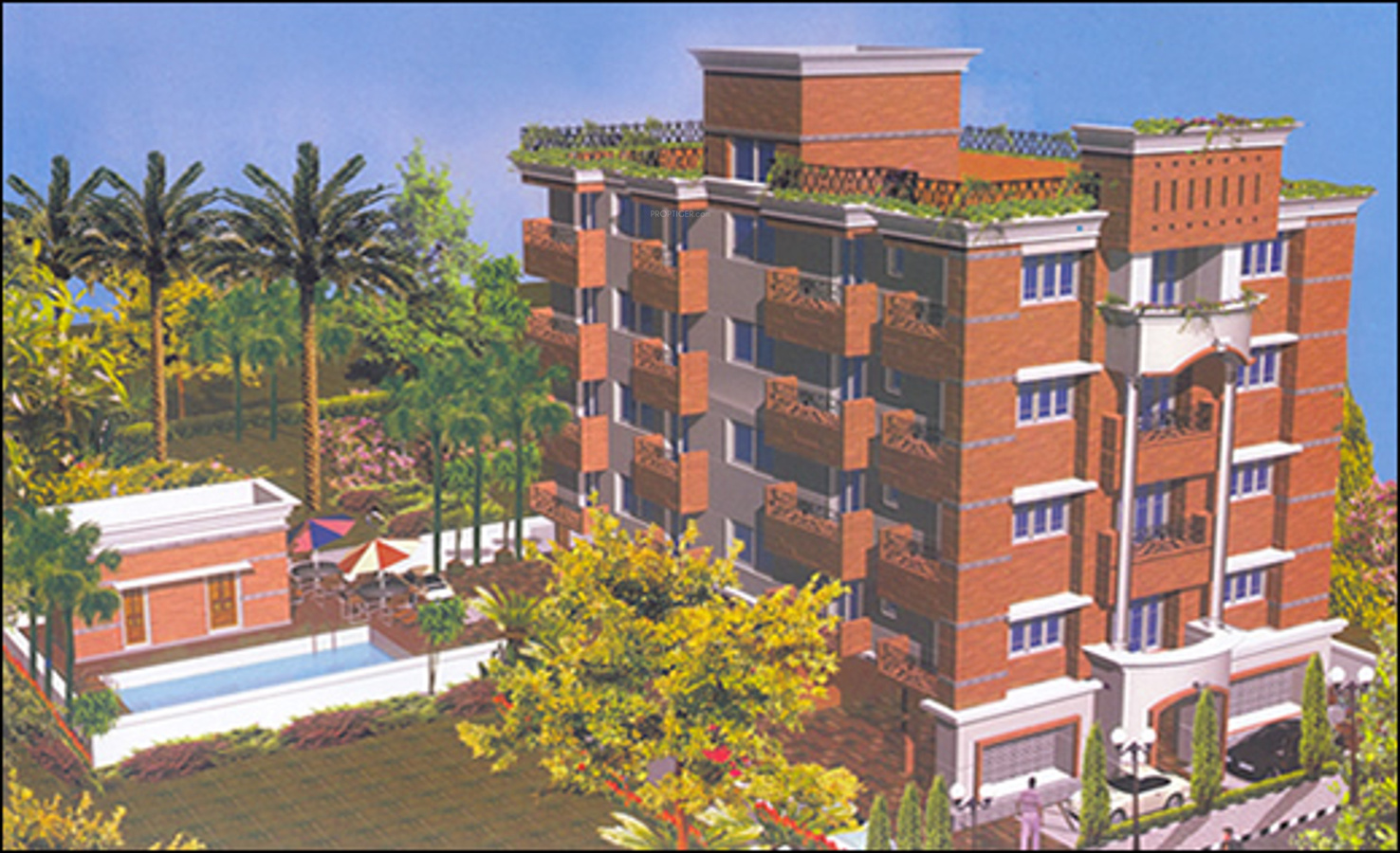 Kg Tranquil Terrace In Nungambakkam Chennai Price Location Map Floor Plan Reviews