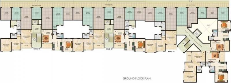 Images for Cluster Plan of Tulsi Estates Sanidhya