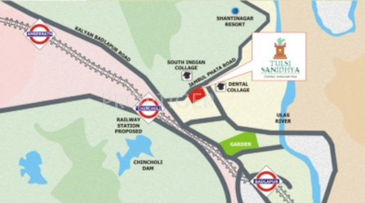 Images for Location Plan of Tulsi Estates Sanidhya