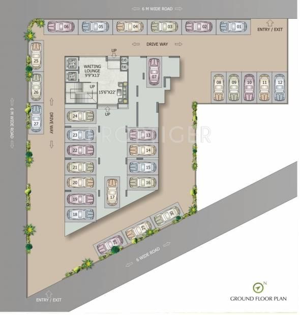 Images for Cluster Plan of Swaraj Queensbay